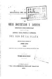 Historia de la conquista del Paraguay: Volúmenes 2-3