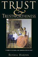 Trust and Trustworthiness PDF