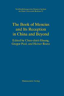 The Book of Mencius and Its Reception in China and Beyond Book