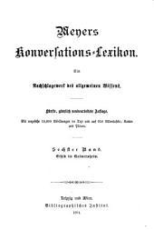 Meyers Konversations-Lexikon: Band 6