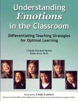 Understanding Emotions in the Classroom PDF