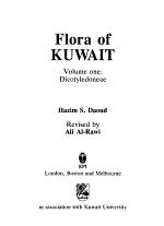 Flora of Kuwait: Dicotyledoneae