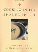 Cooking in the Shaker Spirit Book