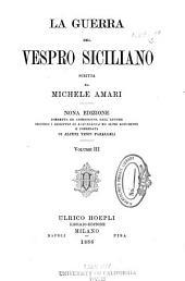 La guerra del vespro siciliano: Volume 3