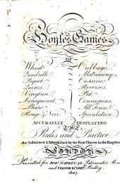 The New Pocket Hoyle: Containing the Games of Whist.... [etc.] : Accurately Displaying the Rules and Practice, as Admitted and Established by the First Players in the Kingdom