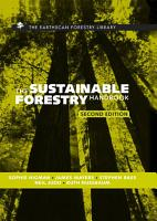 The Sustainable Forestry Handbook PDF