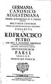 Germania canonico-Augustiniana