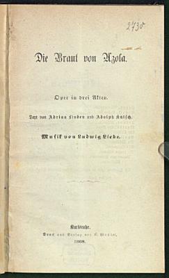 Die Braut von Azola PDF