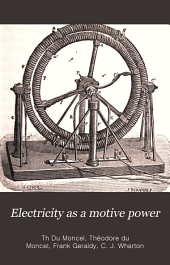 Electricity as a Motive Power