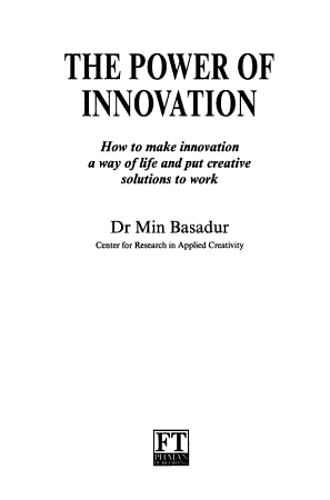 The Power of Innovation PDF