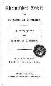 Rheinisches Archiv für Geschichte und Litteratur: Band 11