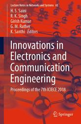 Innovations In Electronics And Communication Engineering Book PDF