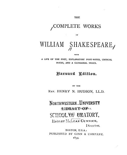 Download The Complete Works of William Shakespeare  Julius Caeser  Hamlet Book