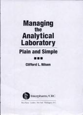 Managing the Analytical Laboratory: Plain and Simple