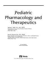 Pediatric Pharmacology and Therapeutics PDF
