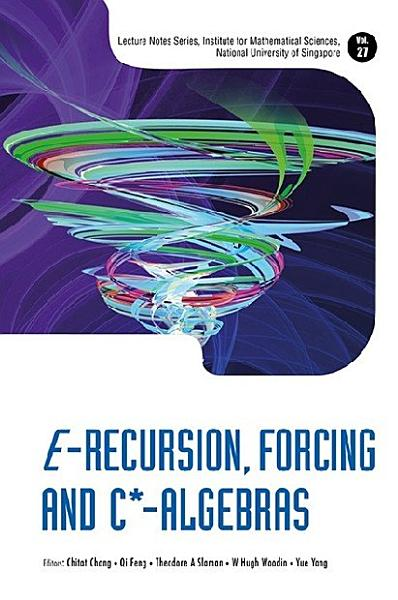 Download E Recursion  Forcing and C  Algebras Book