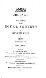 Journal and Proceedings of the Royal Society of New South Wales PDF