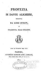 Profezia di Dante Alighieri