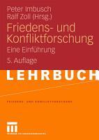 Friedens  und Konfliktforschung PDF