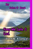 Keep Me Safe  O God