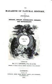 Magazine of Natural History: Volume 6