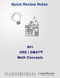 60  Math Concepts   Formulas for the GRE and GMAT PDF