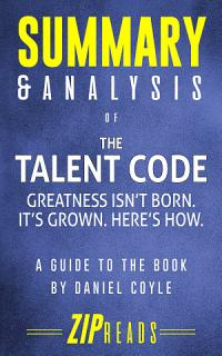 Summary   Analysis of The Talent Code Book