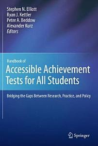 Handbook of Accessible Achievement Tests for All Students PDF