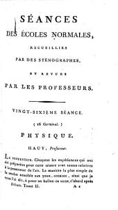 Séances des Écoles normales: Débats, Volume2