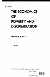 The Economics of Poverty and Discrimination PDF