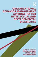 Organizational Behavior Management Approaches for Intellectual and Developmental Disabilities PDF
