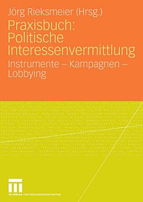 Praxisbuch  Politische Interessenvermittlung PDF