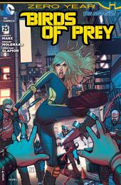 Birds of Prey (2011-) #25