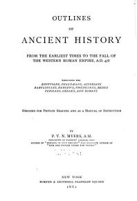 Outlines of Ancient History PDF