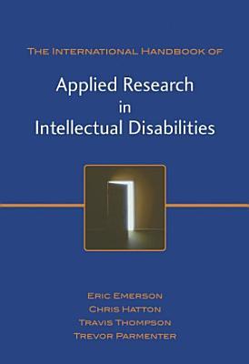 International Handbook of Applied Research in Intellectual Disabilities PDF