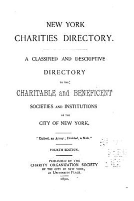 Directory of Social and Health Agencies of New York City PDF