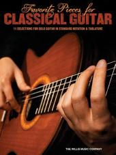 Favorite Pieces for Classical Guitar (Songbook)
