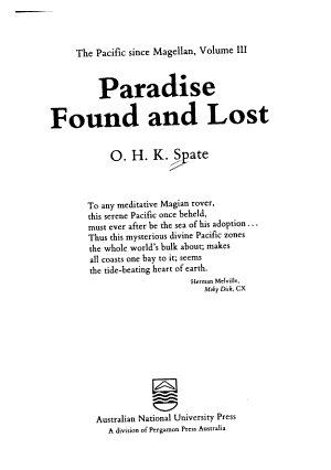 Paradise Found and Lost PDF