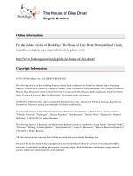 Dupe - The House of Dies Drear Summary & Study Guide   Virginia Hamilton