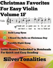 Christmas Favorites for Easy Violin Volume 1 F
