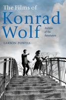 The Films of Konrad Wolf PDF