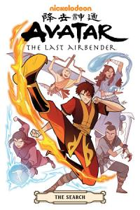 Avatar  The Last Airbender  The Search Omnibus Book