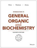 Introduction to General  Organic  and Biochemistry PDF