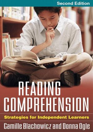 Reading Comprehension  Second Edition