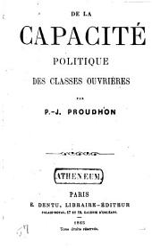 De la capacité politique des classes ouvrières