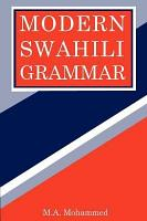 Modern Swahili Grammar PDF