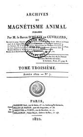 Archives du magnétisme animal: Volumes 2 à 4
