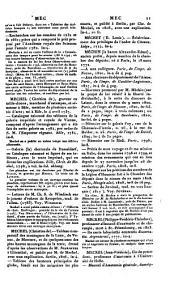 La France littéraire ou dictionnaire bibliographique des savants, historiens et gens de lettres de la France, ainsi que des littérateurs étrangers qui ont écrit en français, plus particulièrement pendant les XVIIIe et XIXe siècles: Mea - Paz. 6