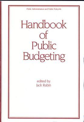 Handbook of Public Budgeting