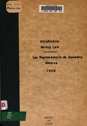 Ley reglamentaria de impuestos mineros